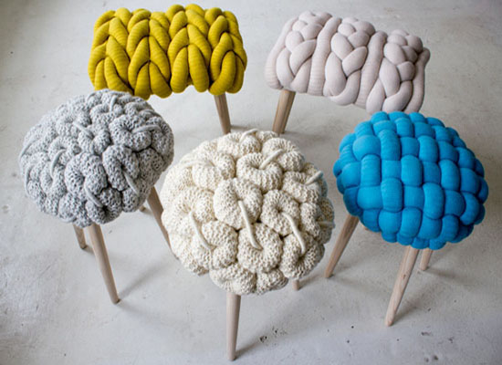 knitted-stools